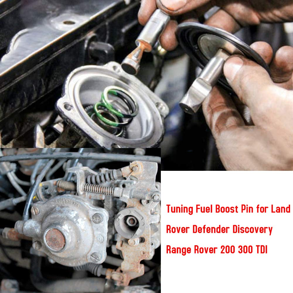 Leslaur Tuning Fuel Boost Pin for Land Rover Defender Discovery Range Rover 200 300 TDI