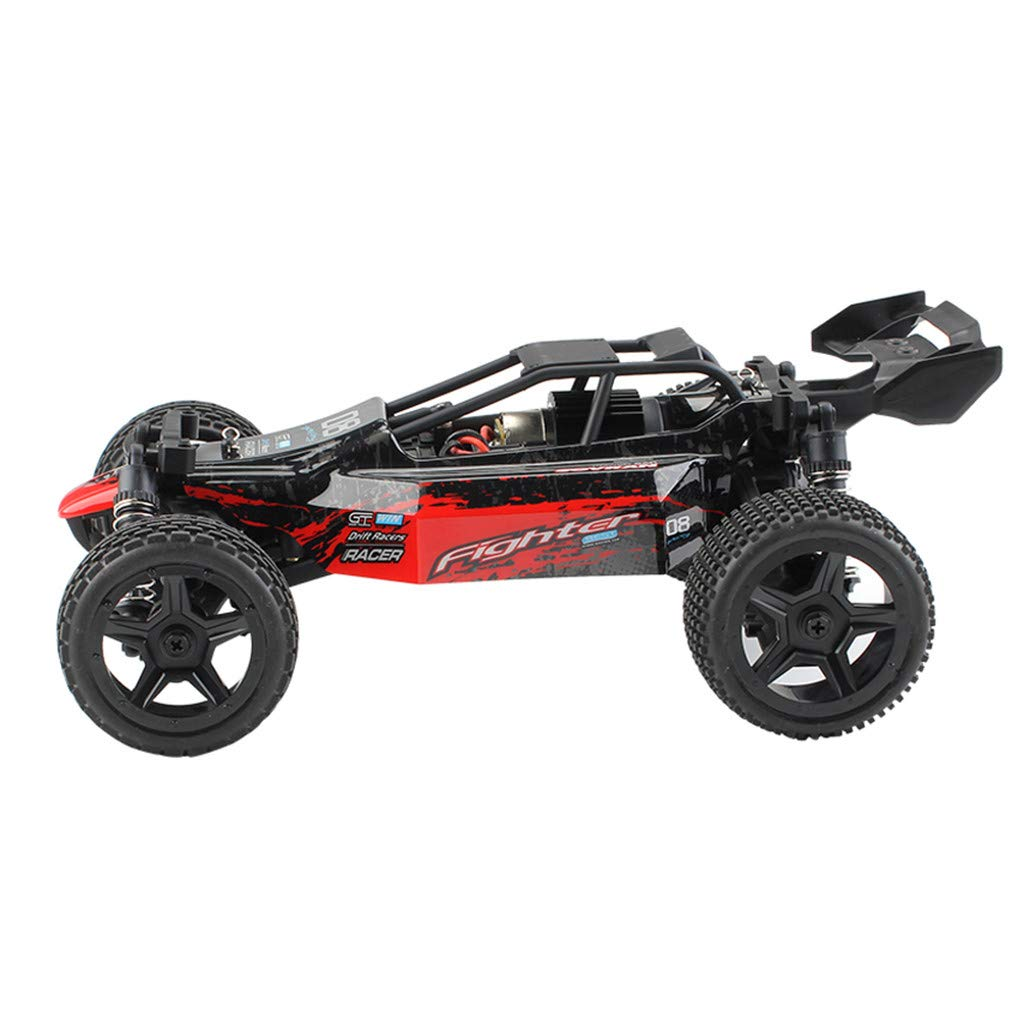ASfairy G171 1:16 2.4G 4WD Scale Large RC Cars 36km/h+ Speed | Boys Remote Control Car Monster Truck Electric | All Terrain Waterproof Toys Trucks for Kids and Adults by ASfairy (Image #5)