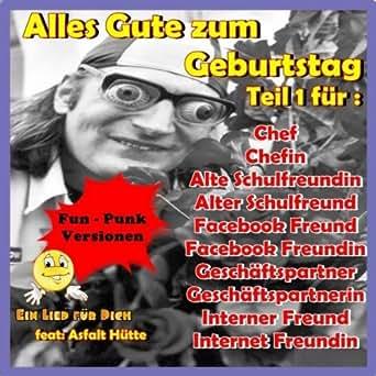 Alles Gute Zum Geburtstag Chefin By Ein Lied Fur Dich Feat Asfalt