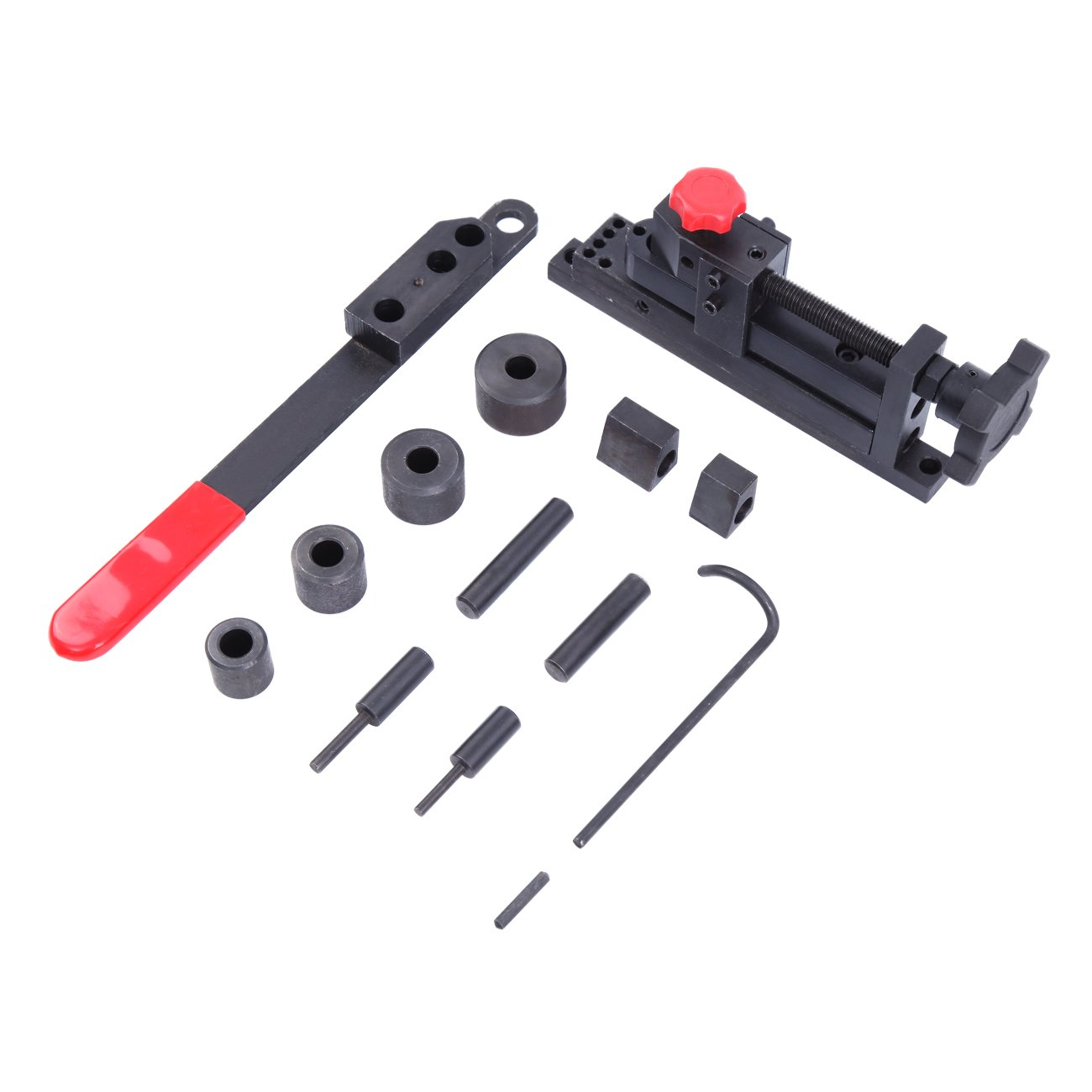 PanelTech Manual Mounting Mini Universal Bending Bender Forms Wire Flat Metal Tubing Pipe Tube Clamp Hook Coil Hardened Tool Bending Machine