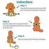 URPOWER Dog Harness Durable Dog Leash Heavy Duty