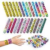 Toys : Giraffe - Slap Bracelets (50-Pack)