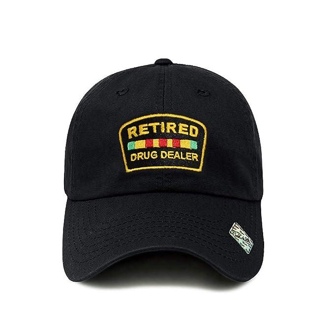 fc6fa588979 ChoKoLids Retired Drug Dealer Hat Dad Hat Cotton Baseball Cap Polo Style  Low Profile 5 Colors
