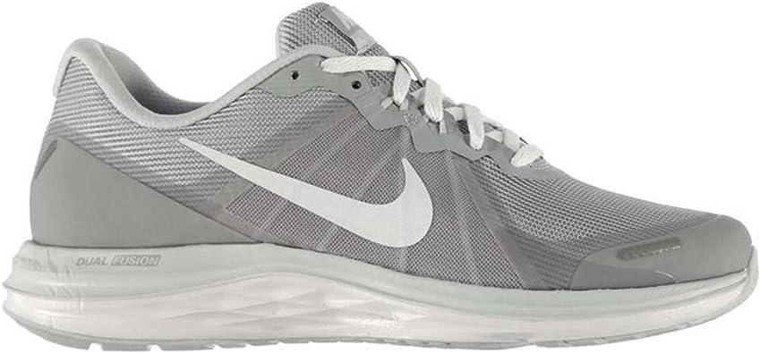 Nike Dual Fusion X 2, Zapatillas de Running para Hombre, Gris (Wolf Grey/White-Pure Platinum), 40 EU: Amazon.es: Zapatos y complementos