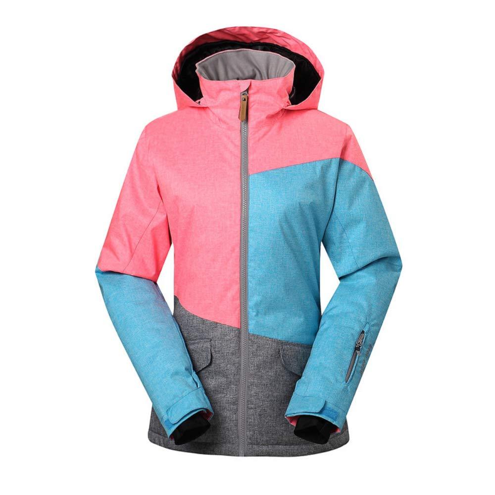 KD Moda Chaqueta de esquí Invierno Impermeable cálido Abrigo ...