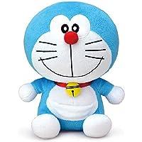 Baby Bucket Plush Material Soft Stuffed Cartoon Toys (Blue 27X23 cm)