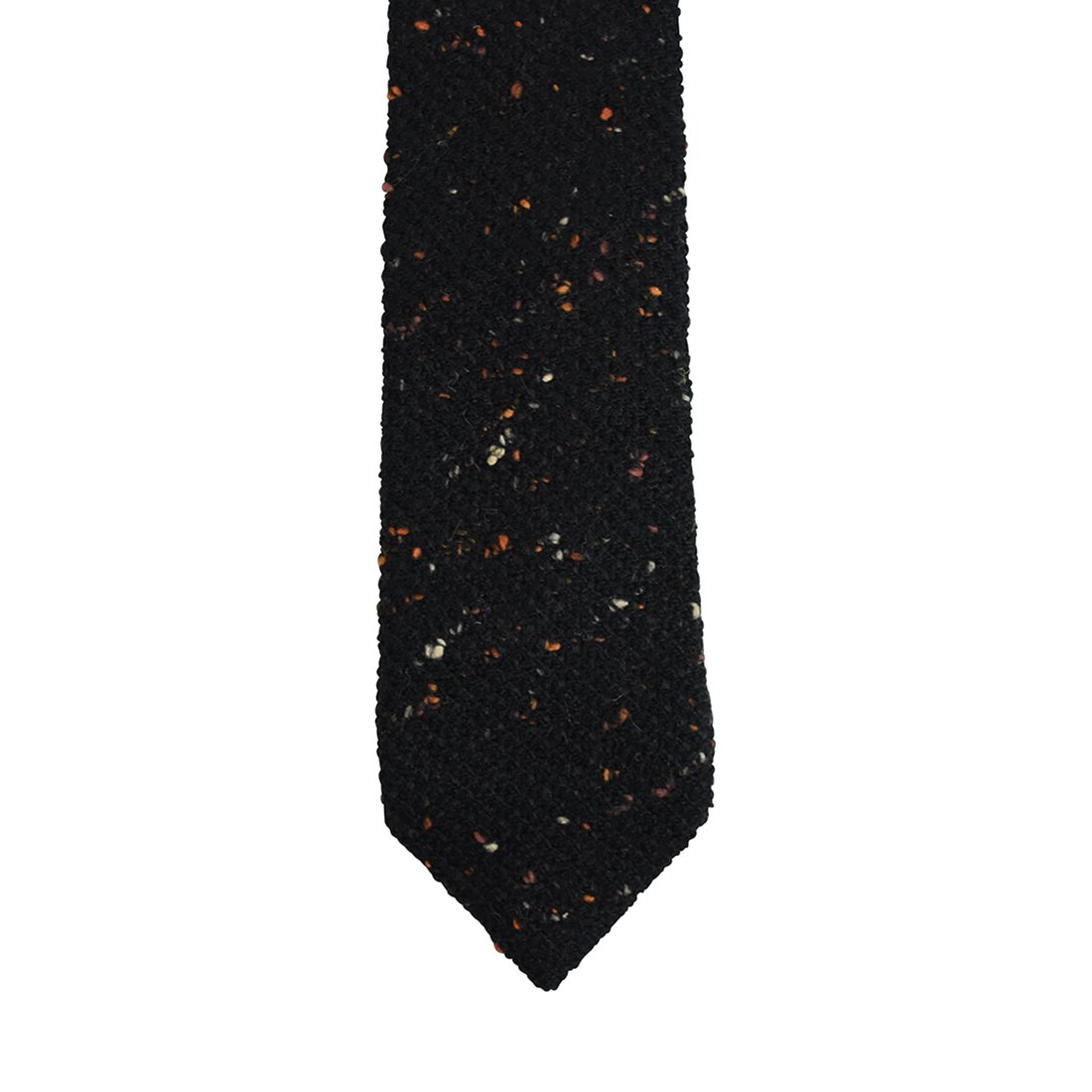 Speckled Tweed Youth Tie Young Boys Retro Tie DaCee Designs Accessories AGYT-12-red
