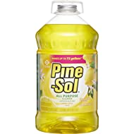 Clorox Company 35419 Pine Sol Solution, 144-Ounce, Lemon Fresh