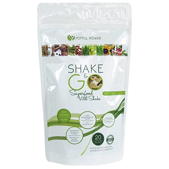 potful Power Natural 400 g, la superalimentos Vital Shake ...