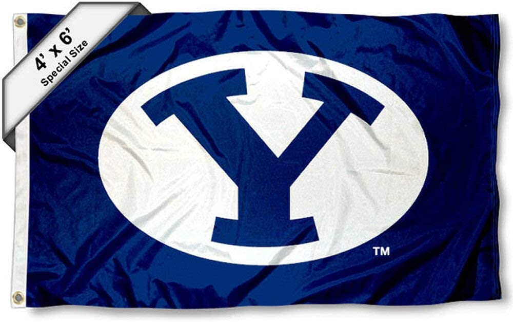 College Flags /& Banners Co BYU Cougars 4x6 Flag
