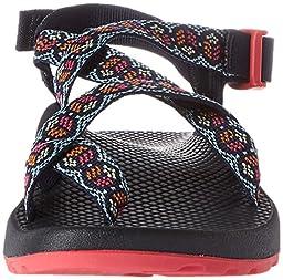 Chaco Women\'s Z2 Classic Athletic Sandal, Blue Peace, 9 M US
