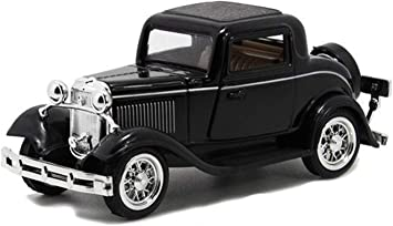 Lattice 1:32 Scale Classic Vintage Die-Cast Model Pull Back Toy Car with Openable Doors (Multicolour)