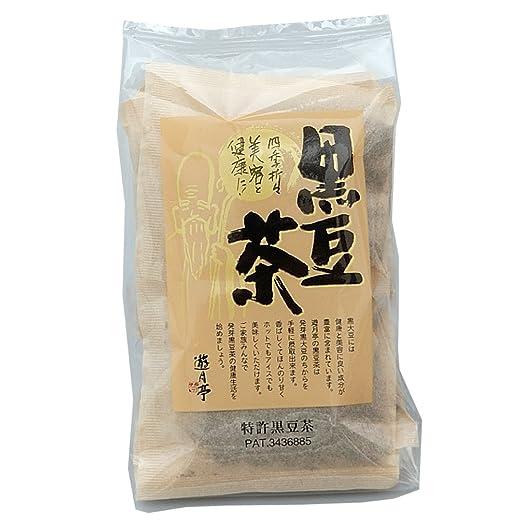 遊月亭 発芽焙煎 黒豆茶