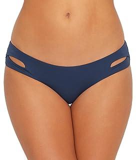 82e146e65292a Becca by Rebecca Virtue Women's Color Code Tab Side Hipster Bikini Bottom