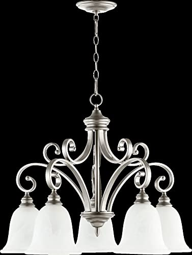 Bryant 5 Light Nook Chandelier Finish: Classic Nickel