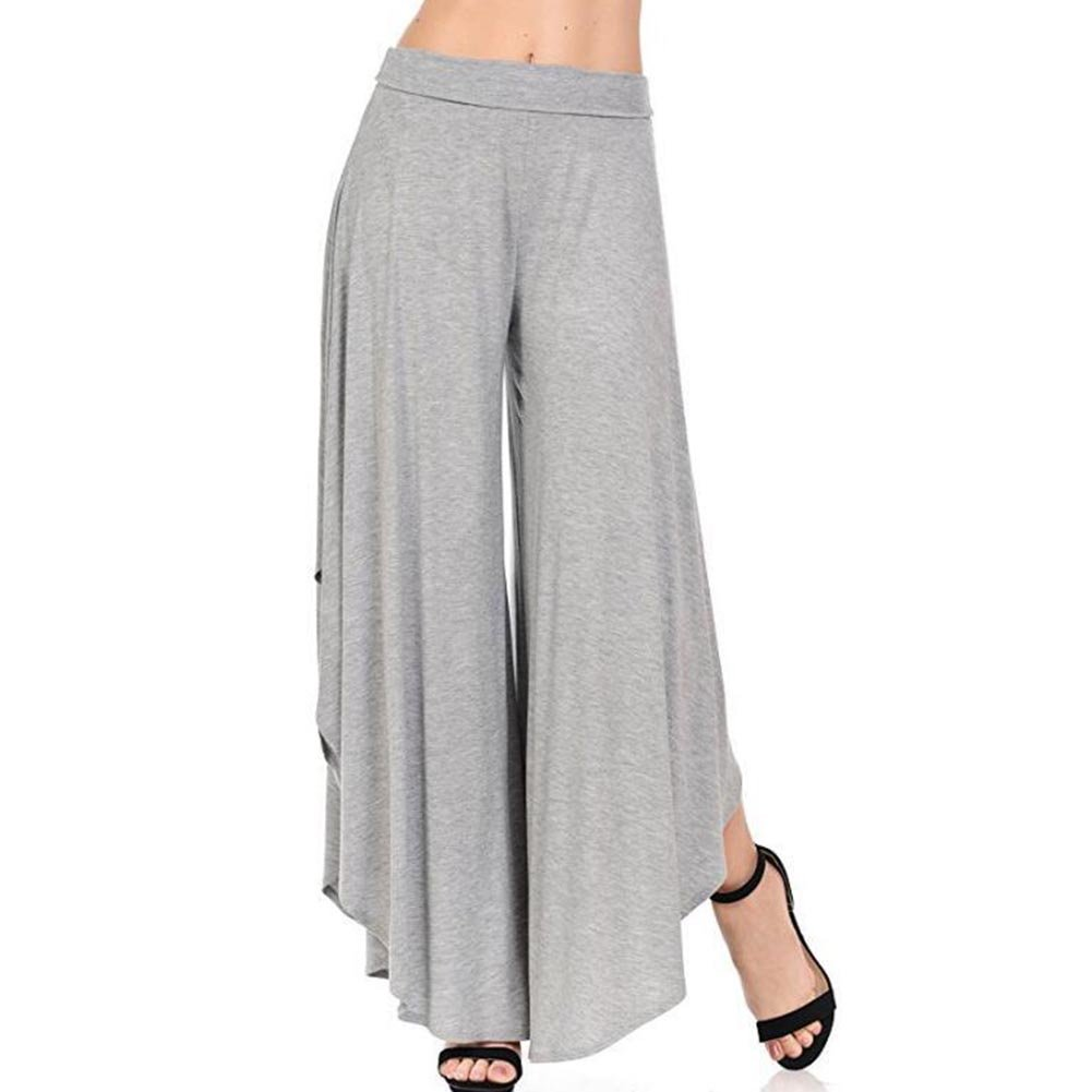 cheyuan Donna Pantaloni Bootcut Pantaloni per Danza Yoga Eleganti Lungo Pantaloni Flare Pantaloni Casual Dell'Alta Vita Gamba Larga Partywear Streetwear P180110KZ12-an