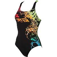 ARENA Backwash Tanque Negro, Multicolor - Bañadores (Bañador