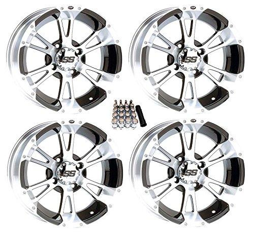 """ITP 14"""" SS112 Black Golf Cart Wheels/Rims [14SS34] EZ-GO & Club Car"""