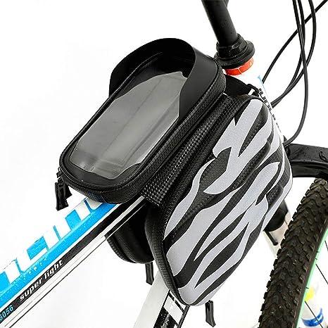 KUANDAR Impermeable Bolsas de Bicicleta 3 en 1 Bolsa Impermeable ...
