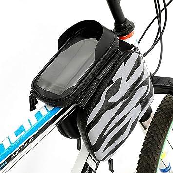 KUANDAR Impermeable Bolsas de Bicicleta 3 en 1 Bolsa ...