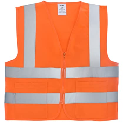 Careful High Visibility Mesh Fabric Safety Vest Reflective Mesh Vest Breathable Free Shipping Security & Protection