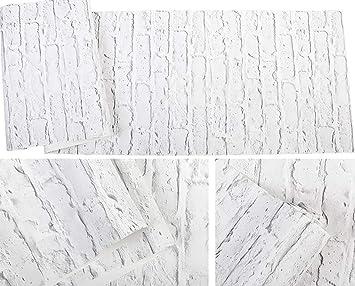 Alger Mur De Brique En Pierre Simple Moderne Papier Peint Intissé