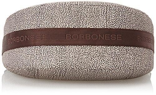 16 Borsa Con marrone Spalla H X Tasca L 15 Borbonese w Cm Donna Classico Luna op 30 A Marrone tvqnwp