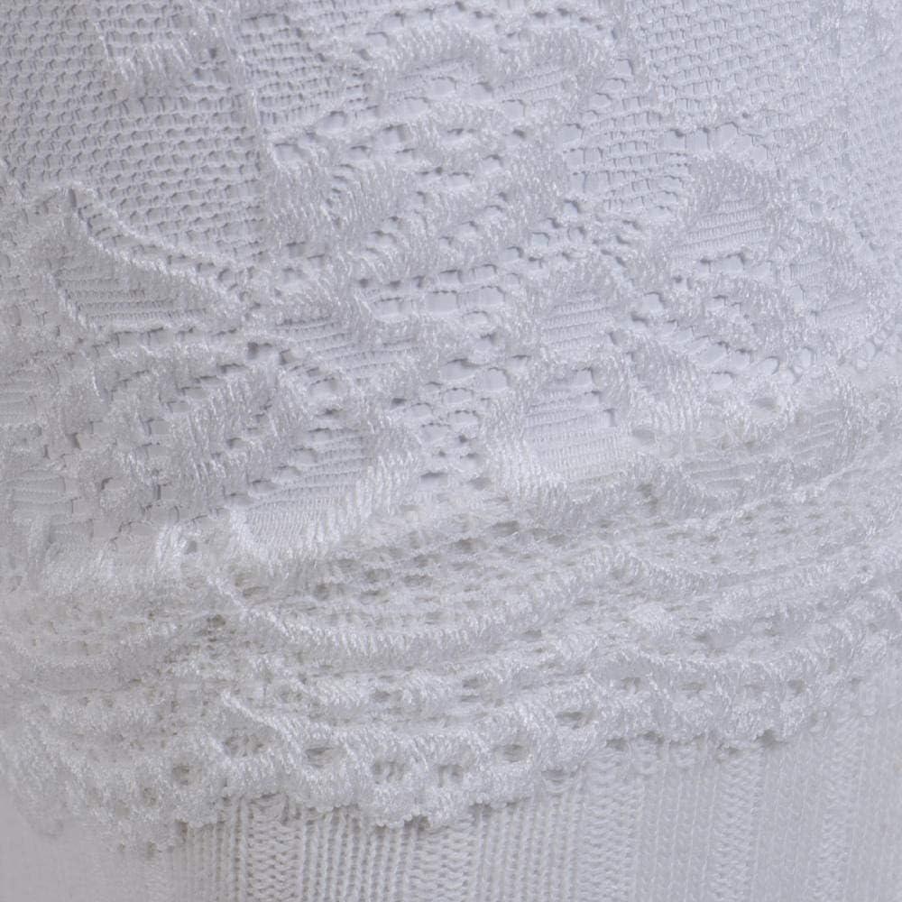 ytsers Calcetines Altos De Muslo De Encaje Transparente Para Mujer Calcetines Largos Hasta La Rodilla