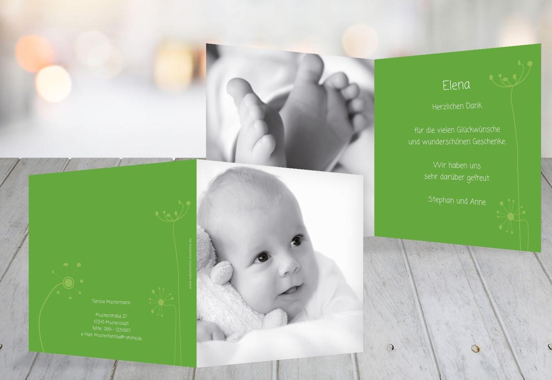 Kartenparadies Danksagung für Geburt Baby Dankeskarte abstrakte Blaumen, hochwertige Danksagungskarte Baby inklusive Umschläge   100 Karten - (Format  145x145 mm) Farbe  Orange B01MYE51BR | Outlet Store  | Verschiedene Arten und Stile  | Stark