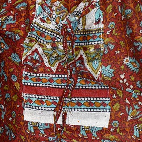 Marusthali Pantalon Marusthali Marusthali Grand Bordeaux Femme Grand Pantalon Femme Pantalon Bordeaux TYqf5ZTwx