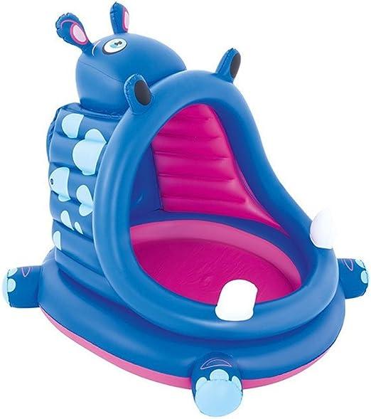 GCHOME Bañera Inflable Inflable bañera hipopótamo Forma de ...