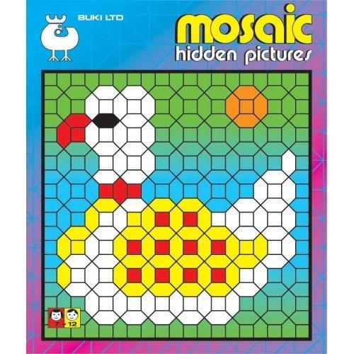 Buki Mosaic Hidden Pictures 2 Activity Book