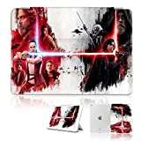 (For iPad Mini 1 2 3, Generation 1 2 3) Smart Case Cover - A30260 Starwars Rey