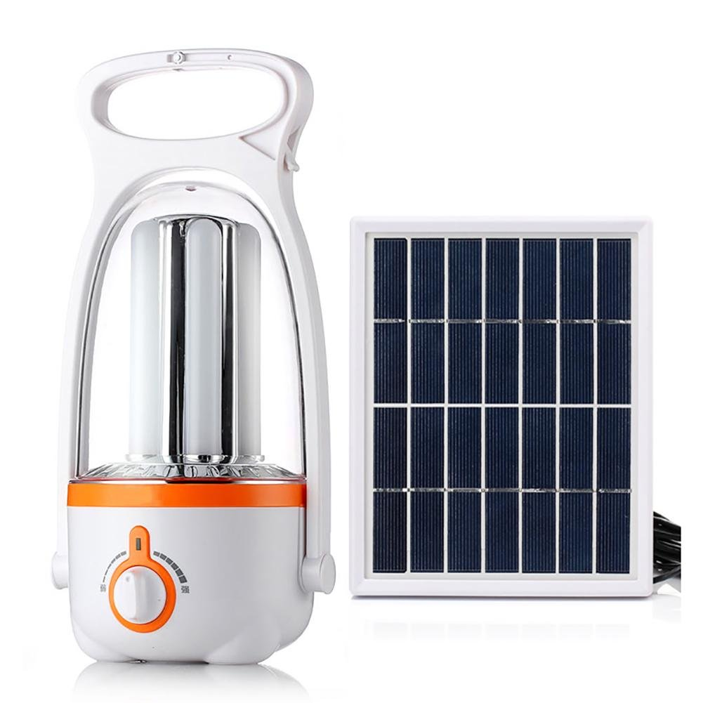 MIAO Camping Laternen - Outdoor Solar super helle LED-Zelte Light Home Power Failure Beleuchtung Notleuchten