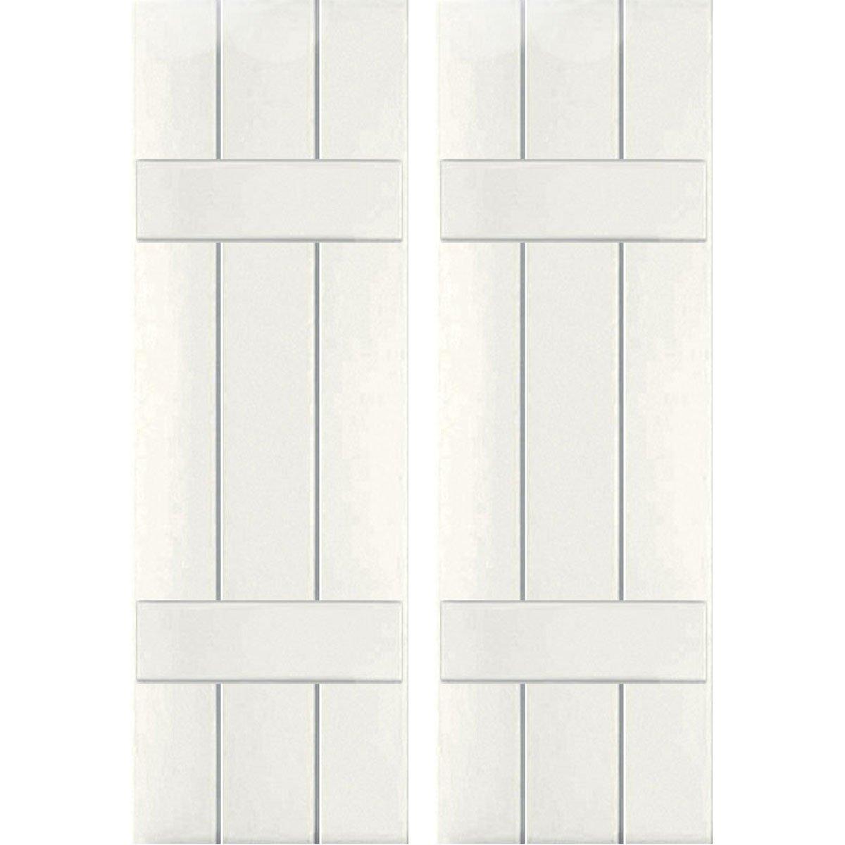 Ekena Millwork CWB12X027WHC Exterior Three Board