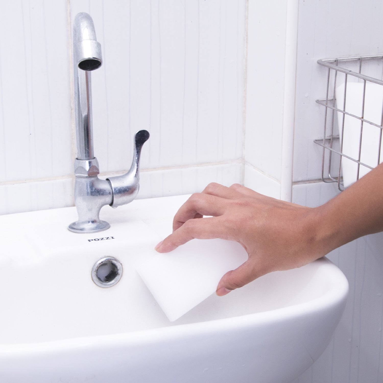 Tile 20 pieces Shoes Walls Kitchen Soap Scum Floor Bathroom Eraser Melamine Foam Sponge All Purpose Multi-Surface Eco Green Cleaner for Whiteboard