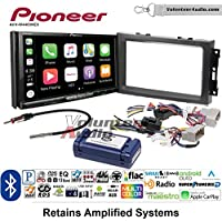 Volunteer Audio Pioneer AVH-W4400NEX Double Din Radio Install Kit with Wireless Apple CarPlay, Android Auto, Bluetooth Fits 2007-2008 Ram, 2006-2007 Chrysler 300