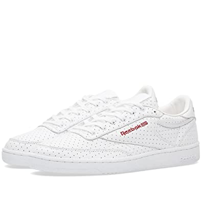 Reebok x Naked Club C 85 Women s Trainer (UK7.5 EUR41 US10)  Amazon ... 3833343a5