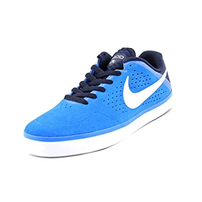 Nike Mens SB Paul Rodriguez CTD LR Photo Blue/White-Obsidian Suede Size 10.5