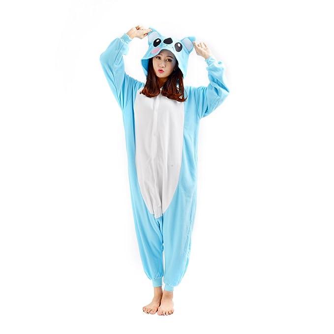 DarkCom - Disfraz de Animal Unisex para Adulto Sirve como Pijama o Cosplay Sleepsuit de una