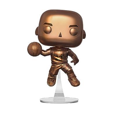 POP! NBA Bulls Michael Jordan Bronze Exclusive Vinyl Figure: Toys & Games