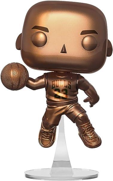 Vinyl Figure NBA-Michael Jordan Bronzés Funko Pop Gratuit Protecteur!
