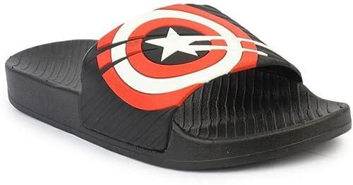 3107b168b5d85b Omen Crocs Men s Black Rubber Flip Flop - 11  Buy Online at Low ...