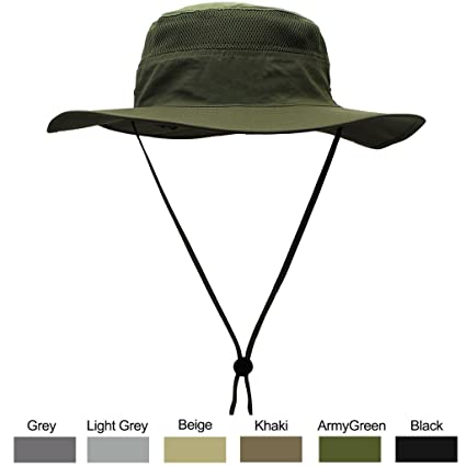 9b3e5c62893 Amazon.com  WELKOOM Sun Hat for Men   Women