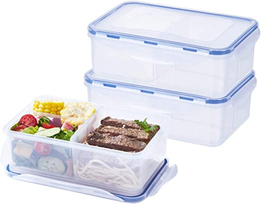 Amazon.com: Contenedor para preparar comidas (39 oz ...