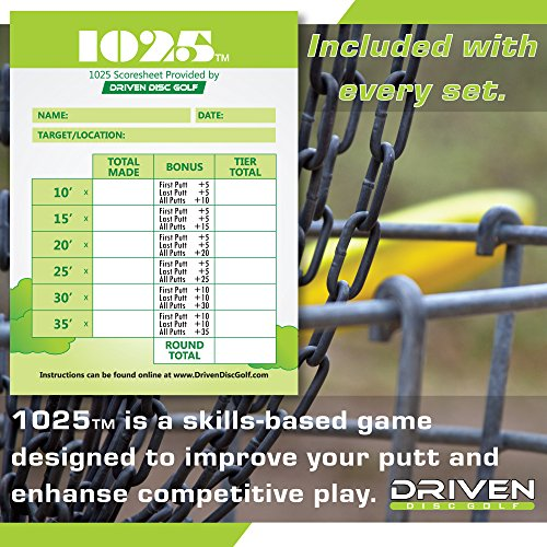 Innova Disc Golf Advanced Players Pack | Premium 4 Disc Set - for Intermediate and Experienced Players - 1025 Putting Game - Flight Reference Card - Driven Mini Marker | Disc Colors Vary by Driven Disc Golf (Image #3)