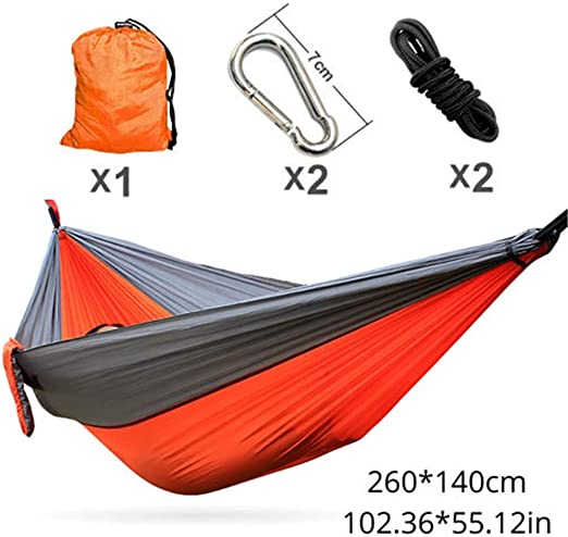 IN THE DISTANCE Camping Hammockhammock 260 * 140Cm El Mejor Precio para España Envío estándar Gratuito de Aliexpress Entrega rápida de mercancías 13~17 días, F: Amazon.es: Jardín