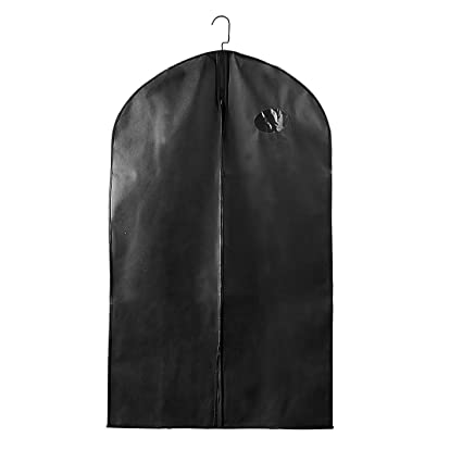 "21a0244e62a6 uxcell 40"" Garment Bags, Suit Travel Bags for Storage or Travel,Breathable  Suit Bags for Women or Men,Dust-Proof Garment Covers for Clothes Dresses ..."