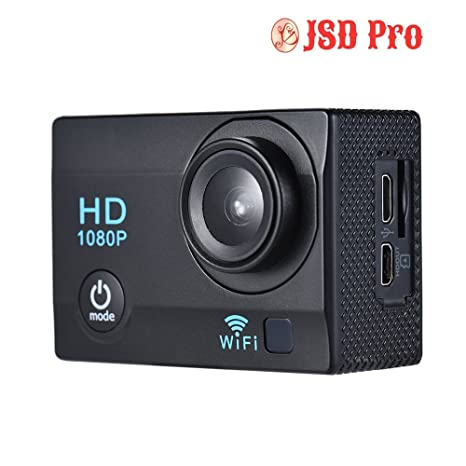 JSD PRO 2 quot; LCD 12MP 1080P WiFi Action Sports Camera Action Cameras   Accessories