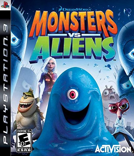 Monsters vs. Aliens (PS3) by ACTIVISION